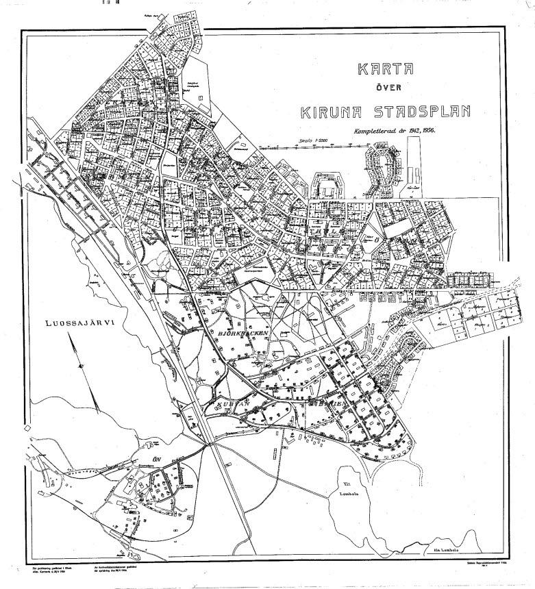 Kirunas climate-adapted community plan.