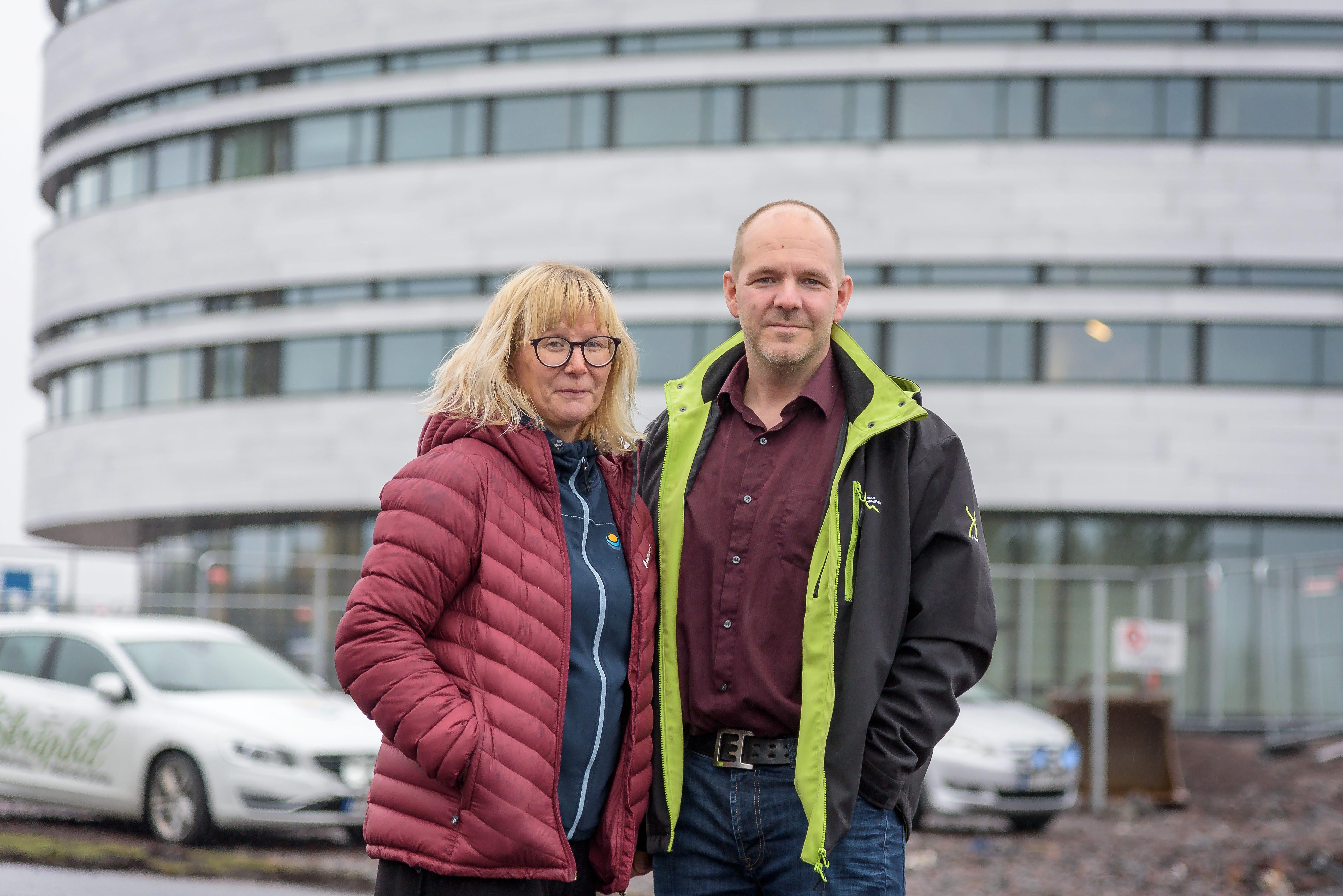 Nina Sarri och Niklas Sirén Kiruna Sustainability Center