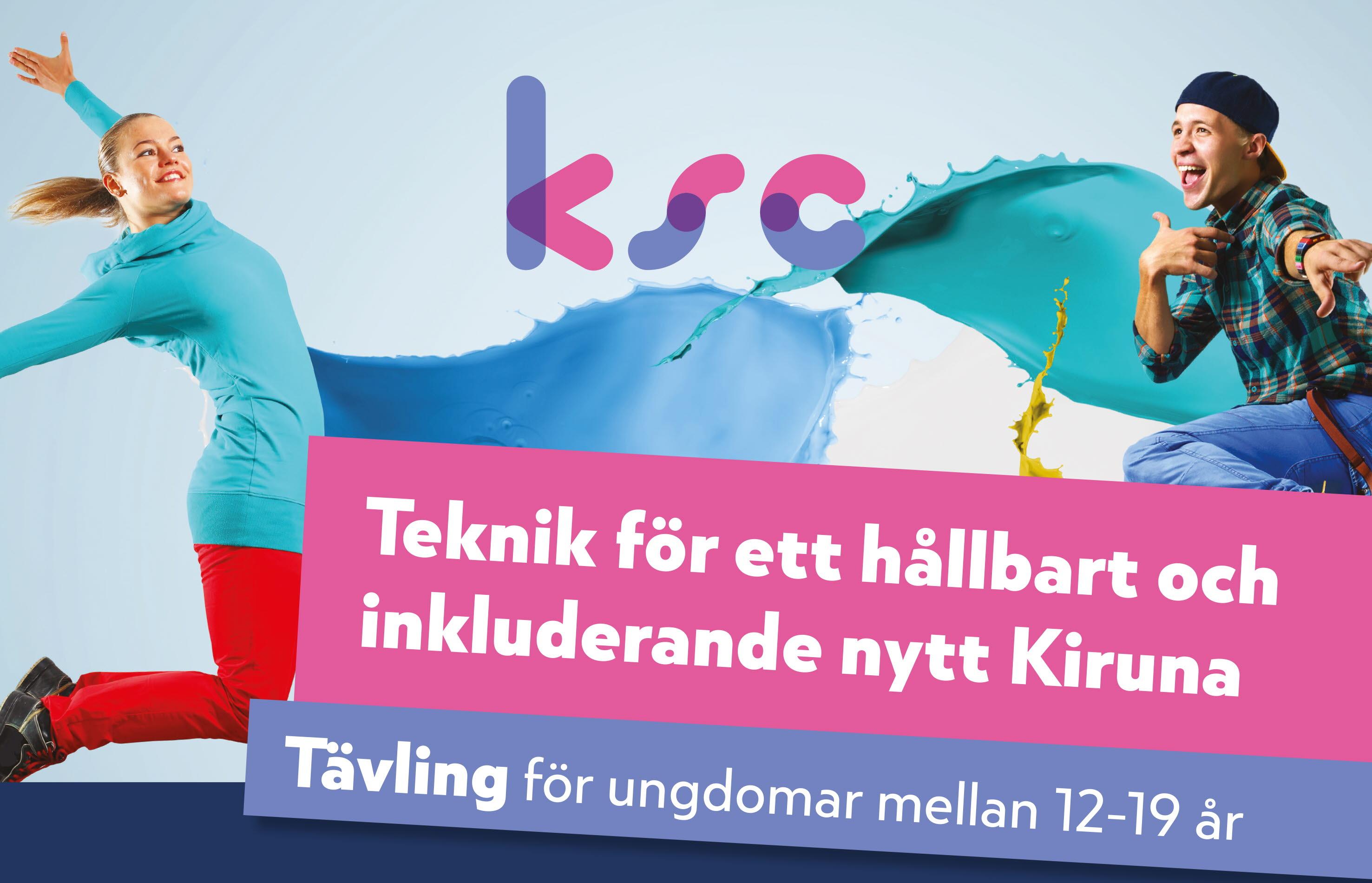 Tekniktävling för ungdomar Kiruna Sustainability Center