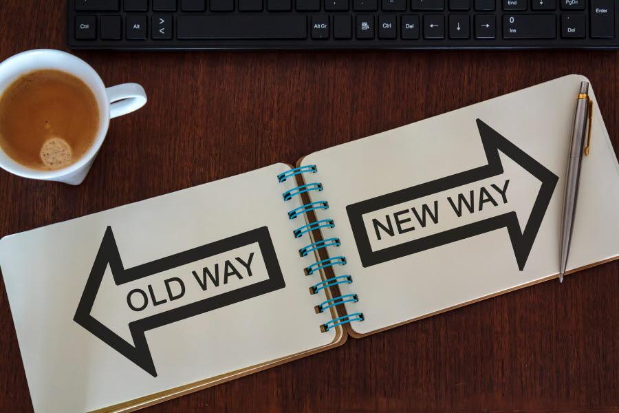 Bild old way new way