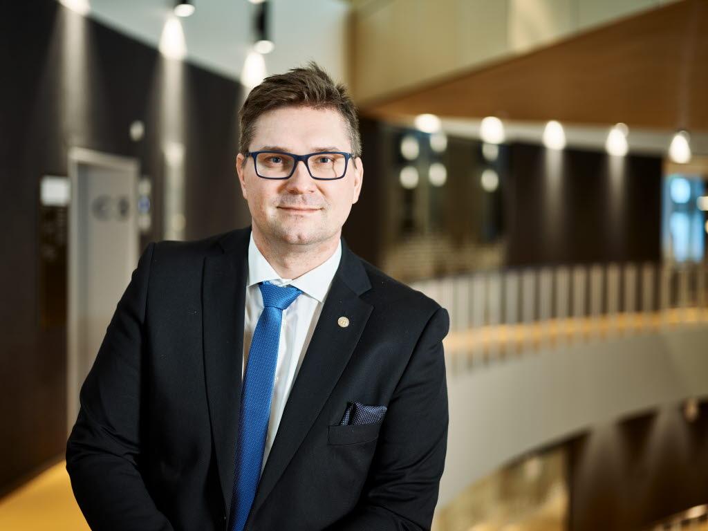 Stefan Sydberg är ny ordförande i kommunfullmäktige. Foto: Hans-Olof Utsi