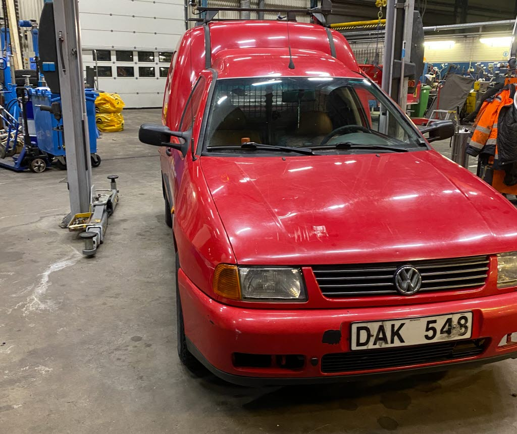VW Caddy skåp 1,9 SDI
