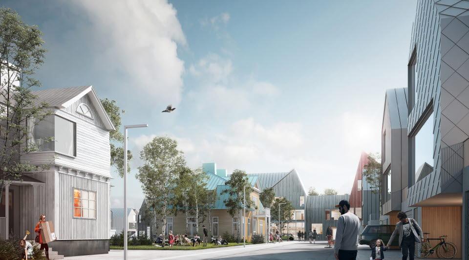 Illustration ny stad: White arkitekter