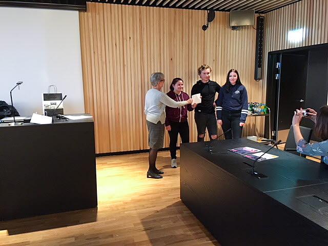 Vinnare i tekniktävling Kiruna Sustainability Center