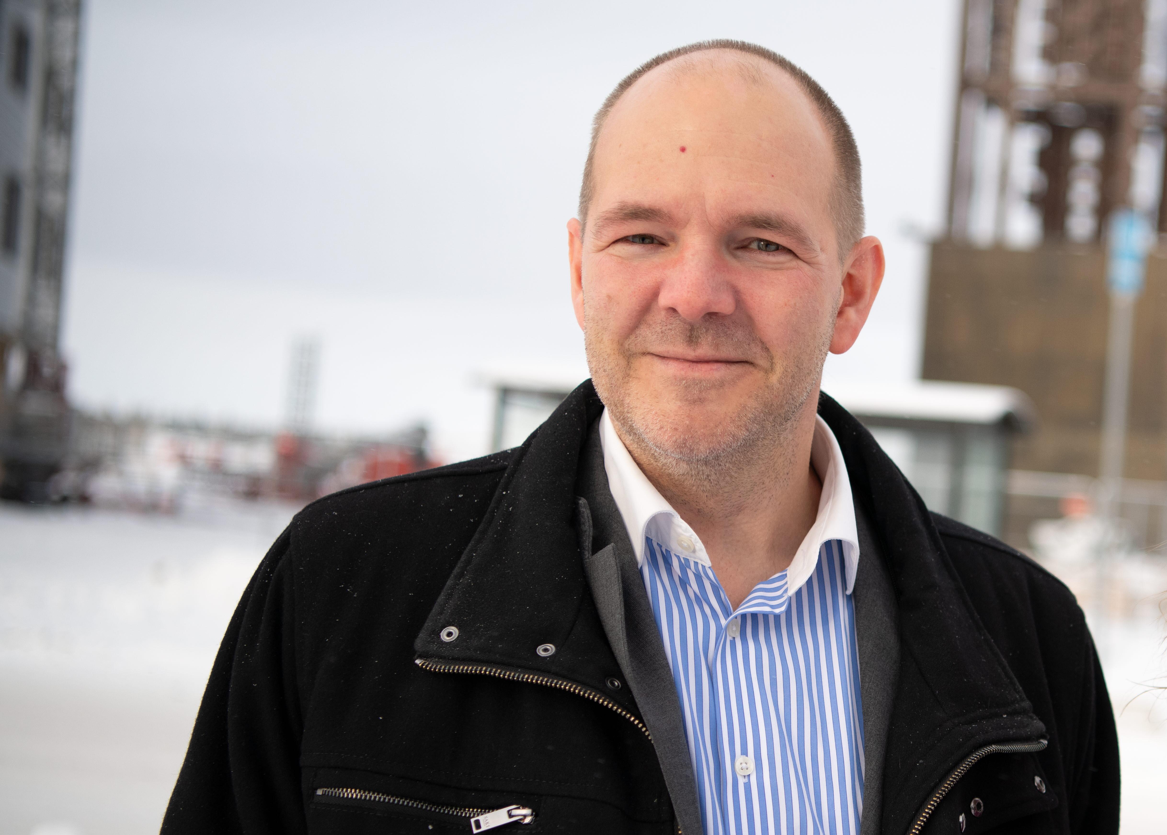 Niklas Sirén Kiruna Sustainability Center