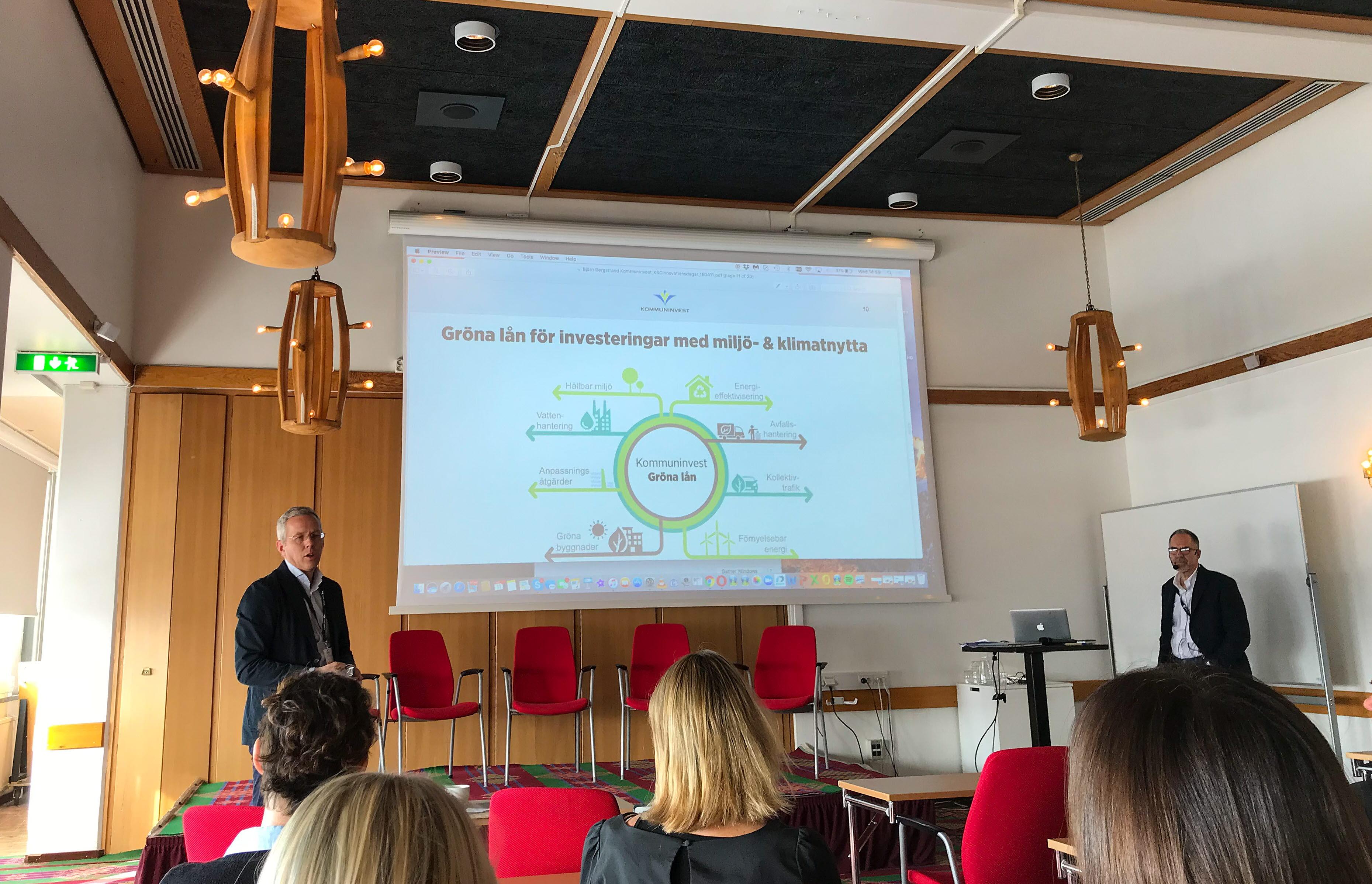 Workshop gröna obligationer KIruna Sustainability Center