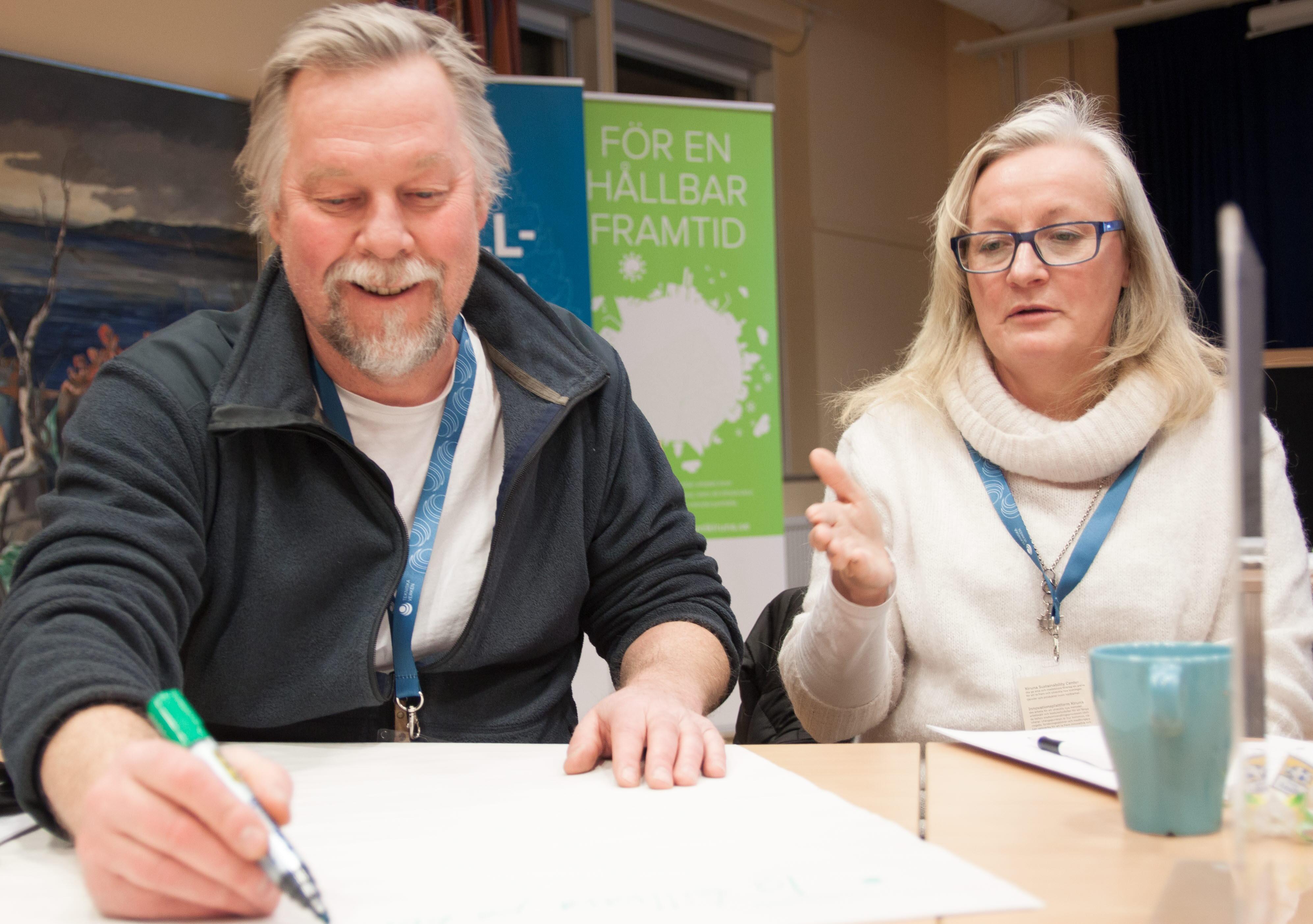 Mats Jacobsson och Ann-Christin Samuelsson Kiruna kommun
