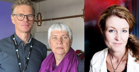 Christer Åhlund, Kristina L Nilsson och Åsa Wikberg Nilsson, LTU.