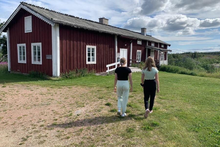 Hembygdsgården i Masugnsbyn.