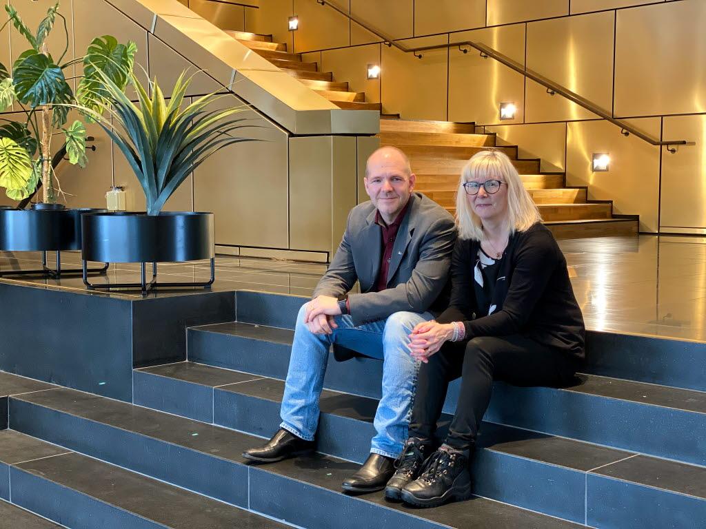 Niklas Sirén och Nina Sarri