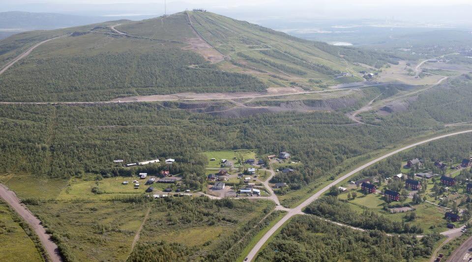 Foto över Lokstallet och Karhuniemi