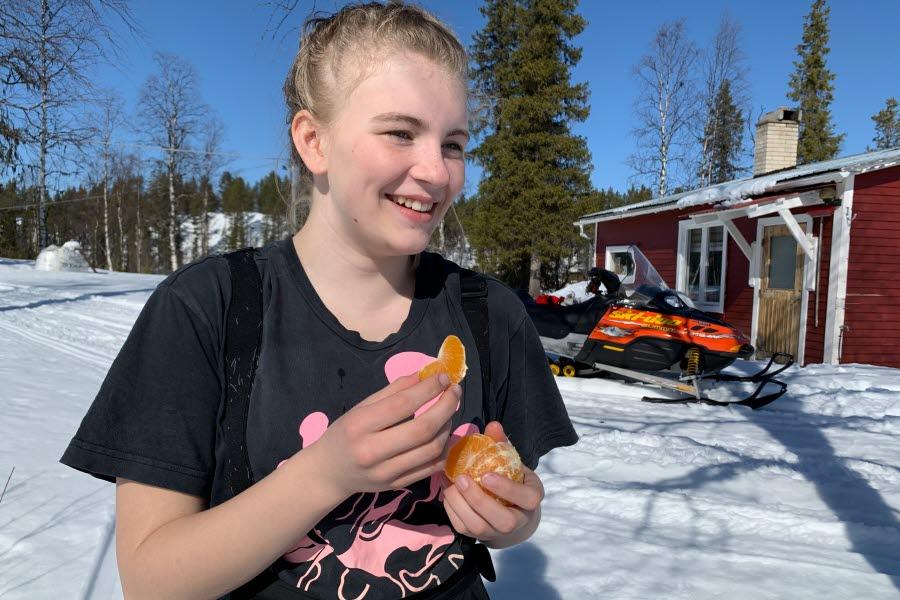 I Kiruna får du mer tid för familjen. Foto: Ulrika Isaksson