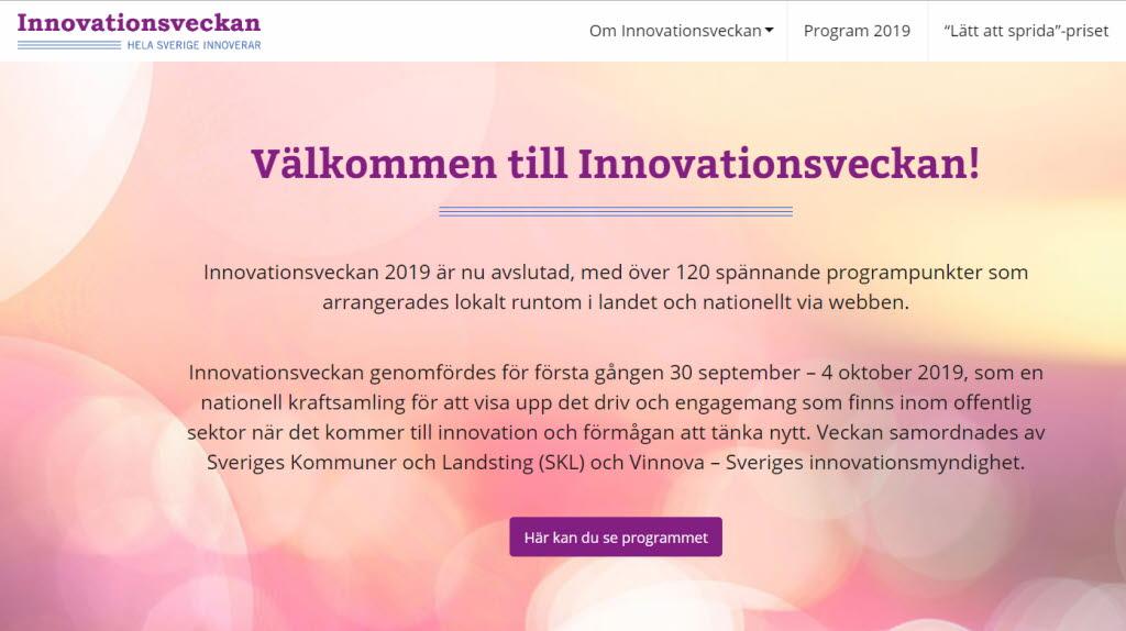 Innovationsveckan 2019